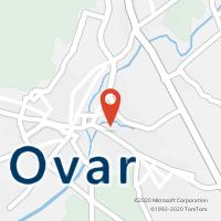 Mapa com localização da Loja CTTOVAR