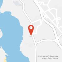 Mapa com localização da Loja CTTPALHAIS