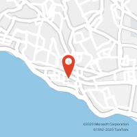 Mapa com localização da Loja CTTPAREDE