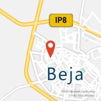 Mapa com localização da Loja CTTPAX JULIA (BEJA)