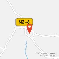 Mapa com localização da Loja CTTPECHÃO