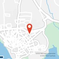 Mapa com localização da Loja CTTPENHA ( FARO )