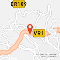 Mapa com localização da Loja CTTPENTEADA (FUNCHAL)