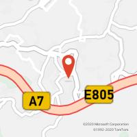 Mapa com localização da Loja CTTPICA