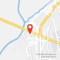 Mapa com localização da Loja CTTPORTO ALTO (Fechada)