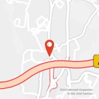 Mapa com localização da Loja CTTPORTO SALVO