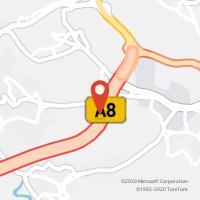 Mapa com localização da Loja CTTPOUSOS (LEIRIA)