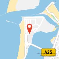 Mapa com localização da Loja CTTPRAIA DA BARRA (ILHAVO)