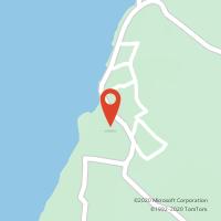 Mapa com localização da Loja CTTPRAIA DAS MAÇÃS