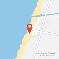 Mapa com localização da Loja CTTPRAIA DE VIEIRA (VIEIRA DE LEIRIA) (Fechada)