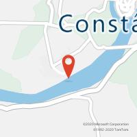 Mapa com localização da Loja CTTPRAIA DO RIBATEJO (Fechada)