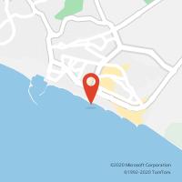 Mapa com localização da Loja CTTQUARTEIRA