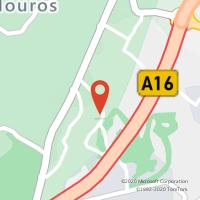 Mapa com localização da Loja CTTQUINTA DA BELOURA