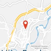 Mapa com localização da Loja CTTRAINHA SANTA ISABEL