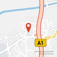 Mapa com localização da Loja CTTRIBEIRA DE FRADES (Fechada)