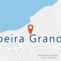 Mapa com localização da Loja CTTRIBEIRA GRANDE