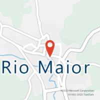 Mapa com localização da Loja CTTRIO MAIOR