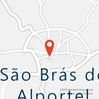 Mapa com localização da Loja CTTS BRÁS DE ALPORTEL