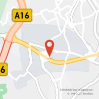 Mapa com localização da Loja CTTS. CARLOS (JUMBO)