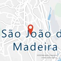 Mapa com localização da Loja CTTS JOÃO DA MADEIRA