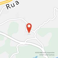 Mapa com localização da Loja CTTS. JOÃO DE AREIAS