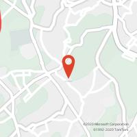 Mapa com localização da Loja CTTS. JOÃO DE VER