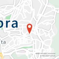 Mapa com localização da Loja CTTS JOSÉ (COIMBRA)