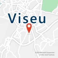 Mapa com localização da Loja CTTS. JOSÉ ( VISEU )