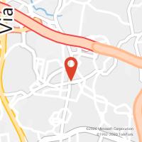 Mapa com localização da Loja CTTS MAMEDE DE INFESTA