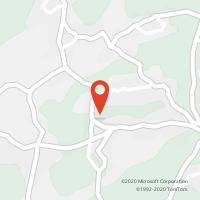 Mapa com localização da Loja CTTS. MARTINHO DA GÂNDARA (O.AZEMÉIS)