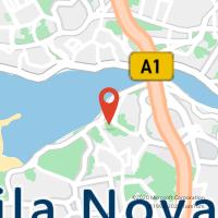 Mapa com localização da Loja CTTS. PEDRO DA AFURADA