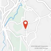 Mapa com localização da Loja CTTS. ROQUE