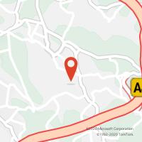Mapa com localização da Loja CTTSANDIM