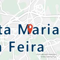 Mapa com localização da Loja CTTSANTA MARIA DA FEIRA