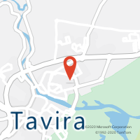 Mapa com localização da Loja CTTSANTA MARIA (TAVIRA)