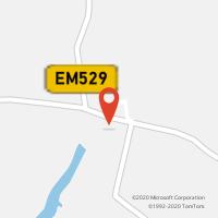 Mapa com localização da Loja CTTSANTA VITORIA