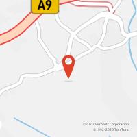 Mapa com localização da Loja CTTSANTO ANTÃO DO TOJAL