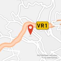 Mapa com localização da Loja CTTSANTO ANTÓNIO (FUNCHAL) (Fechada)