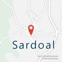 Mapa com localização da Loja CTTSARDOAL