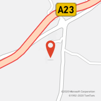 Mapa com localização da Loja CTTSARNADAS DE RODÃO