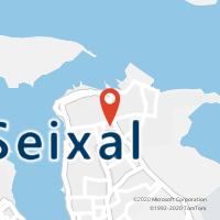 Mapa com localização da Loja CTTSEIXAL