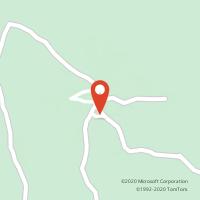Mapa com localização da Loja CTTSERRA DE SANTO ANTONIO