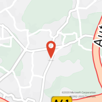 Mapa com localização da Loja CTTSILVA ESCURA (MAIA)