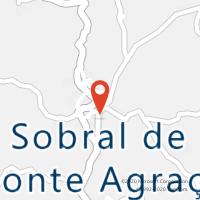 Mapa com localização da Loja CTTSOBRAL DE MONTE AGRAÇO