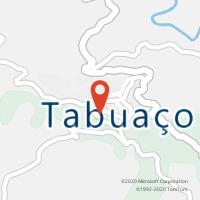 Mapa com localização da Loja CTTTABUAÇO