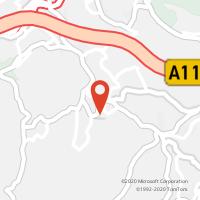Mapa com localização da Loja CTTTABUADELO (GUIMARÃES)