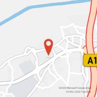 Mapa com localização da Loja CTTTAVEIRO