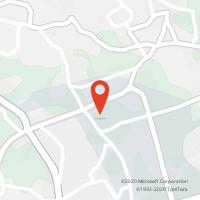 Mapa com localização da Loja CTTTECMAIA