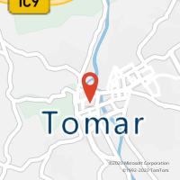 Mapa com localização da Loja CTTTOMAR