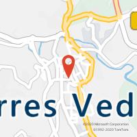 Mapa com localização da Loja CTTTORRES VEDRAS